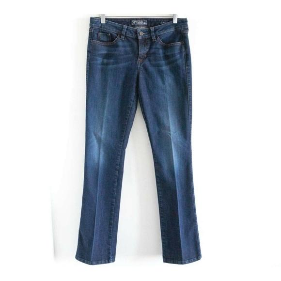 Guess Brittney Bootcut stretch dark denim jeans 29